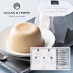OCEAN&TERRE オーシャンテール 北海道ミルクプリン&フロランタンセットB 詰め合わせ おしゃれギフト のし ラッピング メッセージカード 手提げ袋 無料