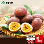 父の日 中元 ギフト パッションフルーツ 秀品 沖縄県産 約1kg 9〜12玉 送料無料