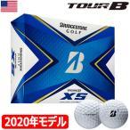 (タイガー使用)ブリヂストンゴルフ TOUR B XS ゴルフボール 2020年モデル 1ダース USA直輸入品