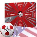 キャロウェイ 2016 CHROME SOFT TRUVIS (クロムソフト トゥルービス)ボール 1ダース[ホワイト](USA直輸入品)