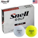 スネルゴルフ Snell GOLF GET SUM (ゲットサム) ボール [1ダース](USA直輸入品)