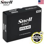 Yahoo!JYPERS(ジーパーズ)【半期決算セール】スネルゴルフ Snell GOLF 2018 MTB BLACK (MY TOUR BALL BLACK) マイツアーボール ブラック [1ダース](USA直輸入品)【HALFSALE2018】