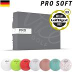 Vice GOLF PRO SOFT ヴァイスゴルフ プロ ソフト 3ピース ウレタンカバー ゴルフボール 1ダース 12球入 USA直輸入品