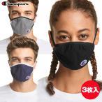 チャンピオン Champion Ellipse Face Mask マスク S/M、L/XLサイズ 3枚入り USA直輸入品