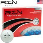 RZN GOLF MS-TOUR 3ピース ウレタンカバー ゴルフボール 1ダース(全12球) USA直輸入品 レジンゴルフ