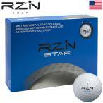 RZN GOLF STAR 2ピース アイオノマーカバー ゴルフボール 1ダース(全12球) USA直輸入品 レジンゴルフ