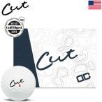 CUT DC ゴルフボール 1ダース(全12球入) ウレタンカバー 4ピース構造 コンプレッション105 カットゴルフ USA直輸入品