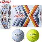 本間ゴルフ 2019 NEW TW-X ウレタンカバー 3ピース ゴルフボール 日本正規品