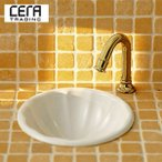 ショッピングGG CERA 手洗器・水栓セット[トッティ][自動水栓][Pトラップ] GG1110S-WHI-set