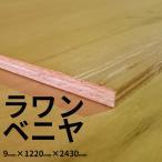 ベニヤ板 ラワンベニヤ 普通合板 9mm×1220mm×2430mm 2類2等 F4(フォースター) 【大阪市と近郊限定】