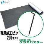 【大建工業】防草シート グラスバスター専用施工ピン 200本入【QM0490B11】