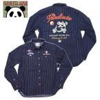 PANDIESTA JAPAN/パンディエスタ タンデムパンダ ワークシャツ  536234