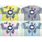 参丸一【サンマルイチ】 波蛙Tシャツ メンズ半袖Tシャツ  ST-20225
