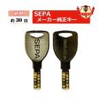 SEPA 合鍵 セパ 送料無料 900Dキー・ディンプルキー・引戸錠用/メーカー純正スペアキー 合鍵作製