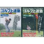 ゴルフ上達塾    ショット・グリーン周り編2枚セット  DVD