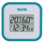 代引不可【送料無料メール便専用】 タニタ デジタル温湿度計 ブルー TT-558BL