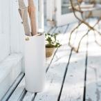 陶器傘立て コモ スリム ホワイト 2610