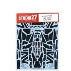 STUDIO27 1/20 F2012 Carbon decal