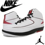 ●NIKE AIR JORDAN 2 RETRO QF 【ナイキ エア ジョーダン 2 レトロ QF】WHITE/BLACK-VARSITY RED 395709-101【503JHJH-38hrc】