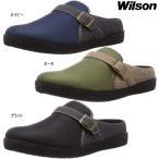 Wilson ウィルソン 2201 メンズ サボサンダル クロッグサンダル 紳士 ベルト シンプル 履きやすい