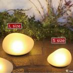 ソーラーライト 防滴 かわいい 明るい 玄関 センサーライト LED ソーラーストーンL