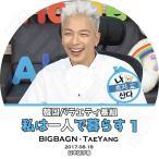 K-POP DVD/BIGBANG SOL 私は一人で暮らす#1 (2017.08.18)(日本語字幕あり)/BIGBANG ビッグバン SOL テヤン KPOP DVD