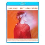 Blu-ray/JONGHYUN 2018 BEST COLLECTION★Shinin Before Our Spring Lonely She Is End Of A Day Crazy Deja-Boo Hallelujah/SHINee シャイニ ジョンヒョン