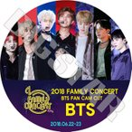 K-POP DVD/BTS 2018 FAMILY CONCERT FAN CAM CUT(2018.06.22-06.23)/防弾少年団 RM シュガ ジン ジェイホープ ジミン ブィ ジョングク