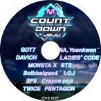 K-POP DVD/M COUNTDOWN IN JEJU (2016.10.27)/GOT7 DAVICH LADIE'S CODE MONSTA X BTS SF9 IOI CRAYON POP TWICE PENTAGON 他