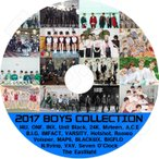 K-POP DVD/2017 BOY`S COLLECTION/14U ONF Unit Black 24K Myteen A.C.E B.I.G Imfact MAP6 N.flying.. KPOP DVD