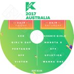K-POP DVD/2017 KCON In Australia(2017.10.05)/EXO WANNA ONE MONSTA X Girl`s Day SF9 VICTON PENTAGON 他