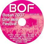 K-POP DVD/2017 Busan One Asia Festival (2017.10.22)/APINK BAP GOT7 IKON NCT127 BLACK PINK WANNA ONE GFRIEND 他