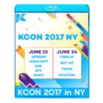 Blu-ray/2017 KCON in New York (2017.07.06)/CNBLUE NCT127 HIGHLIGHT TWICE SF9 ZION.T UP10TION KNK GFRIEND 他 KPOP ブルーレイ