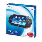 ショッピングPlayStation PlayStation Vita (プレイステーション ヴィータ) 3G/Wi-Fiモデル クリスタル・ブラック 限定版 (PCH-1100AB01)*ご注文確認後24時間以内に発送*