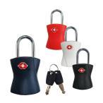 TSAロック 鍵式 キー 南京錠 スーツケース 旅行かばん ビジネスバッグ 黒 紺 赤 白 siffler シフレ TSA 南京錠 SIF7039