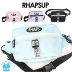 ショルダーバッグ 女の子 lhq-511 RHAPSUP ラプサップ センターベルトシリーズ 2WAYショルダー ウエストバッグ おしゃれ 斜めがけ