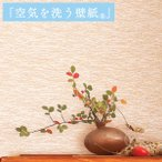 壁紙 のり付き のりつき クロス 国産壁紙 和風 和柄 機能性壁紙 空気を洗う壁紙 消臭 防かび ルノン RH-4067