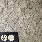 壁紙 のり付き のりつき クロス 国産壁紙 フラワー・リーフ イラスト リーフ柄 アジアン 防かびサンゲツ RE-8021 RE-8022
