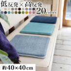 マット 椅子 チェアクッション チェアパッド 厚手 洗える おしゃれ 低反発高反発フランネルマット 40×40cm
