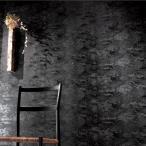 壁紙 のり付き のりつき クロス 国産壁紙 和風 和室 黒 ブラック モダン 柄 シック 防かび 壁紙サンゲツ RE-2650