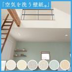 壁紙 のり付き のりつき クロス 国産壁紙  空気を洗う壁紙 織物調ルノン RH-9041〜RH-9046