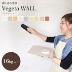 送料無料 届いてすぐ塗れる 漆喰 しっくい 練済み漆喰 ベジタウォール1箱16kg入り(約8.8〜12平米・畳 約6.6枚分)