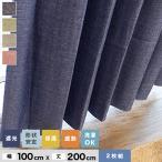 カーテン 機能性既製カーテンが激安 裏地付き遮光カーテン2枚組 遮光1級2級・ウォッシャブル・形態安定 BE3300 幅100cm×丈200cm*NA/PI__be3300-200