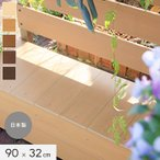 ボックス付きフェンス ボックス専用 蓋(フタ) 90cm×32cm__fe-b90-