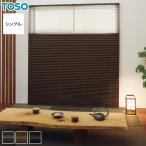 プリーツスクリーン オーダー 遮光 TOSO プリーツスクリーン シングルスタイル 木肌__pleats-ts-s21