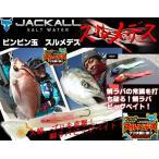 ※ジャッカル  ビンビン玉 MEGAスルメデス 300g ディープブラック/白イカ JACKAL 4525807152876 鯛カブラ