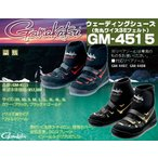 ※がまかつ ウェーディングシューズ(先丸・ワイズ3E・フェルト)ワイド GM-4515 ブラック LL 4549018140989