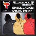 ※ジャッカル シェルジャケット レッド XL 4525807184259 JACKAL SHELL JACKET フーディー パーカー PARKER
