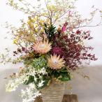 和風ミニスタンド花 開店祝い・個展祝い・楽屋花 コンパクトで回収不要
