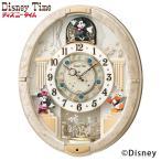 ディズニー からくり時計 FW574W 電波時計 掛け時計 クロック セイコー SEIKO ディズニータイム ミッキー&ミニー 動画